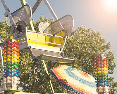 Photograph - Ferris Wheel Bucket by Cindy Garber Iverson