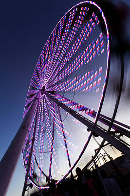 Photograph - Ferris Wheel by Chris Babcock