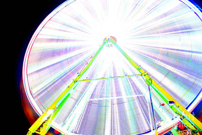 Photograph - Ferris Wheel Color by Chiara Corsaro