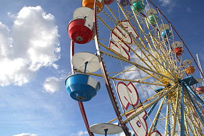 Photograph - Ferris Wheel by Denise Mazzocco