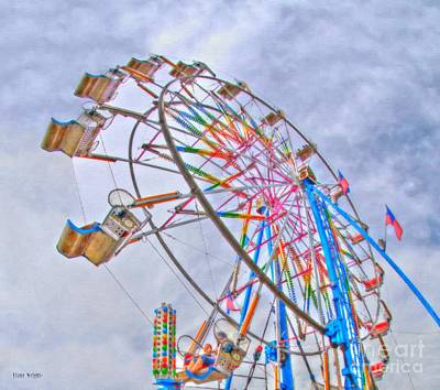 Photograph - Ferris Wheel by Liane Wright