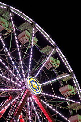 Photograph - Ferris Wheel by Michael Porchik