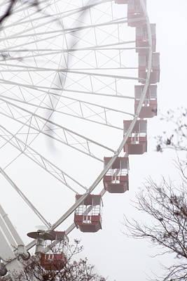 Photograph - Ferris Wheel No.1 by Niels Nielsen