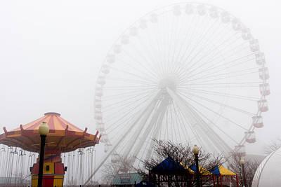Photograph - Ferris Wheel No.3 by Niels Nielsen