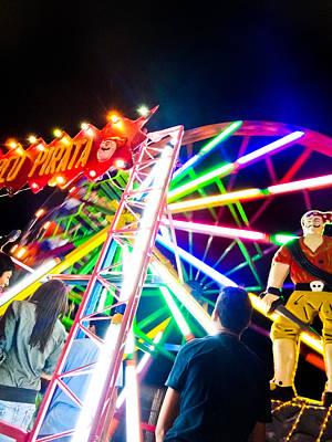 Photograph - Ferris Wheel by Norchel Maye Camacho
