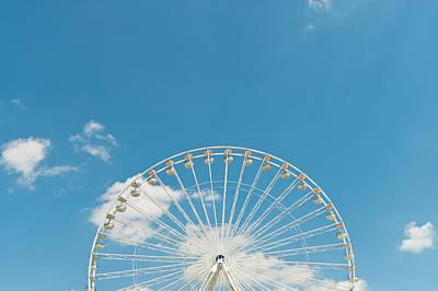 Photograph - Ferris Wheel, Paris, France by John Harper