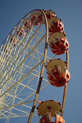 Photograph - Ferris Wheel by Steven Liveoak