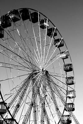 Ferris Wheels Original by Mary Doneman