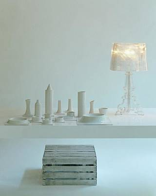 Photograph - Ferruccio Laviani's Bourgie Lamp From Kartell by Romulo Yanes
