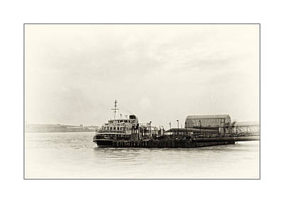 Photograph - Ferry At The Terminal by Spikey Mouse Photography