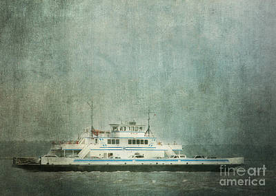 Photograph - Ferry Boat In Fog by Judi Bagwell
