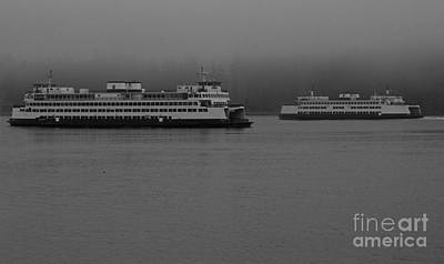 Photograph - Ferry Crossing by Deanna Proffitt