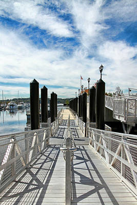 Photograph - Ferry Dock by Bob Slitzan