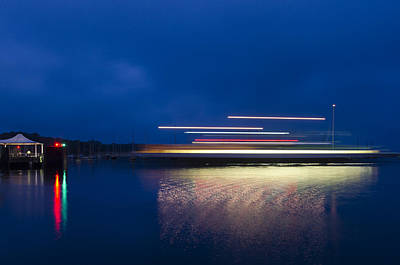 Ferry Light Art Print