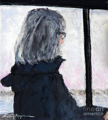 Painting - Ferry Thoughts by Shelley Koopmann