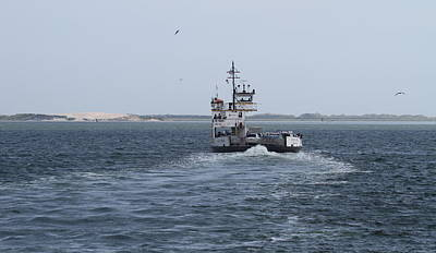 Ferry Photograph - Ferry To Ocracoke 5 by Cathy Lindsey