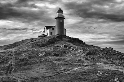 Ferryland Lighthouse Art Print by Eunice Gibb