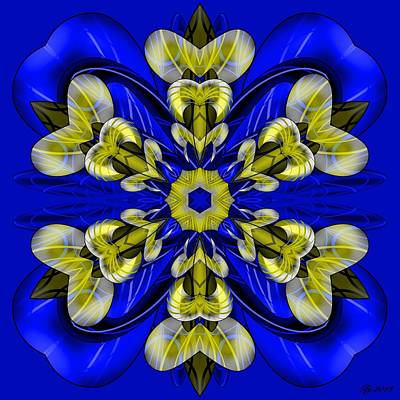Digital Art - Fertile Curl 1 by Brian Johnson
