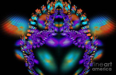 Fertility Digital Art - Fertility Goddess by Klara Acel