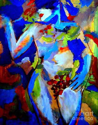 Fertility Art Print by Helena Wierzbicki