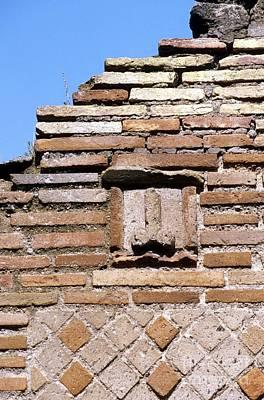 Fertility Symbols Wall Art - Photograph - Fertility Symbol, Pompeii by Pasquale Sorrentino