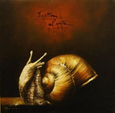 Festina Lente Art Print by Simone Galimberti
