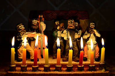 Judaica Photograph - Festival Of Light by Fraida Gutovich