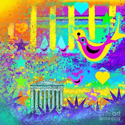 Festivale Digital Art - Festivale by Carol Jacobs