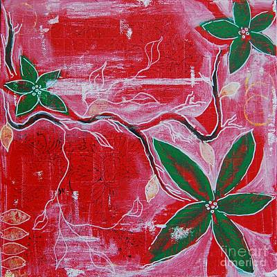 Painting - Festive Garden 2 by Jocelyn Friis