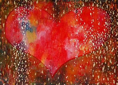 Painting - Festive Heart by Lynda Hoffman-Snodgrass