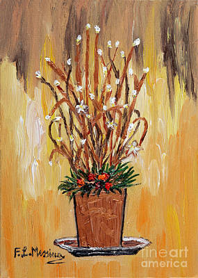 Painting - Festive Lights by Loredana Messina