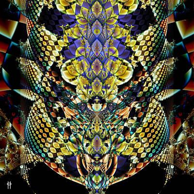 Festooned Art Print by Jim Pavelle