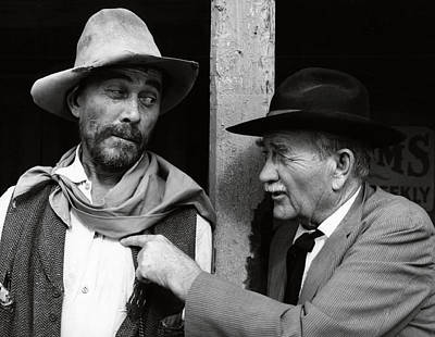 Old Tv Photograph - Festus And Doc by Daniel Hagerman