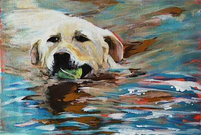 Painting - Fetch by Michelle Winnie