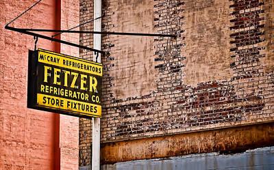 Photograph - Fetzer Refrigerator Company by Greg Jackson
