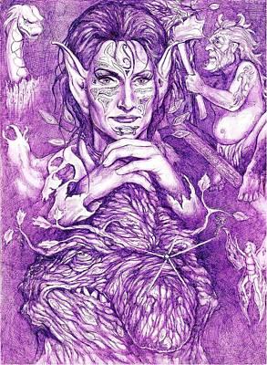 Vengeance Drawing - Fevertree by Jamie Jonas