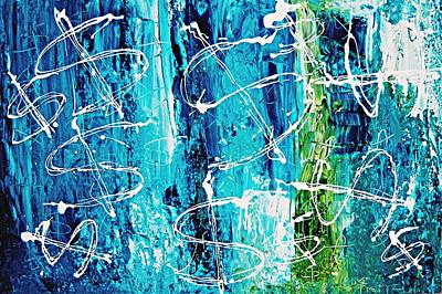 Indian Contemporary Artist Painting - Few More Dollarz by Piety Dsilva