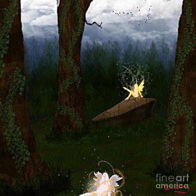 Fey Forest Art Print