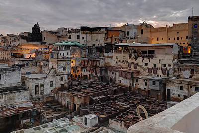 Photograph - Fez Tannery by Nisah Cheatham