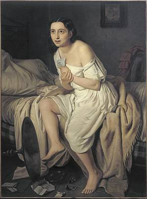 Alienation Photograph - Fiamminghi, Giacomo 1815 - 1895. Love by Everett