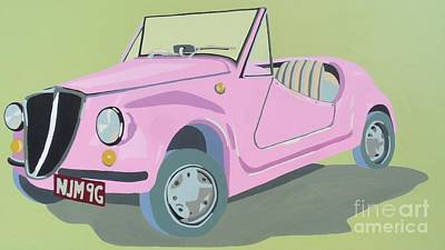 Fiat Car Painting - Fiat Jolly by Nicky Leigh