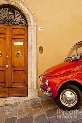 Photograph - Fiat Parking by Brian Jannsen