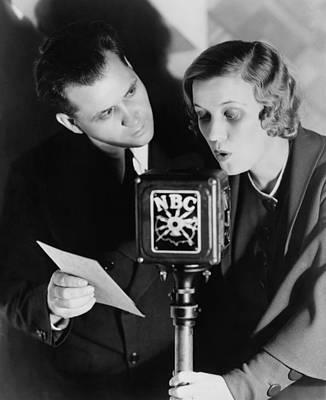 Jordan Photograph - Fibber Mcgee & Molly Radio Show Stars by Everett