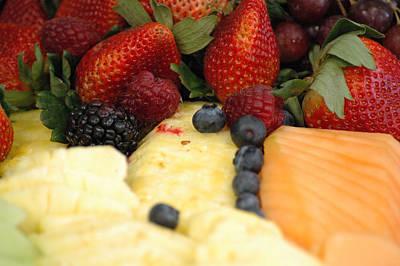 Fiber Fruits Art Print