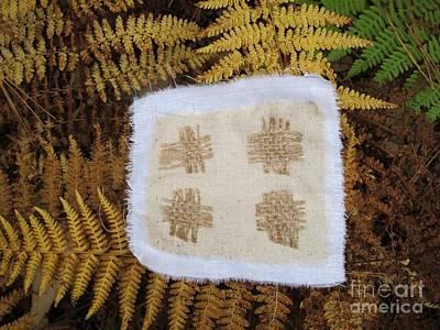 Tapestry - Textile - Fiber On Ferns by Linda Marcille
