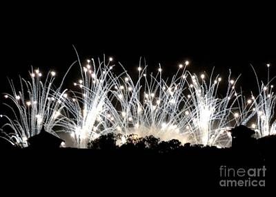 Photograph - Fiber Optic Fireworks by Darla Wood