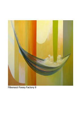 Painting - Fibonacci Fooey Factory II by Betsy Derrick