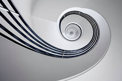 Spiral Wall Art - Photograph - Fibonacci by Max Zimmermann