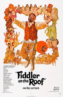 Fiddler On The Roof, Topol Center, 1971 Print by Everett