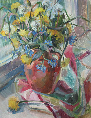 Painting - Field Bouquet by Juliya Zhukova